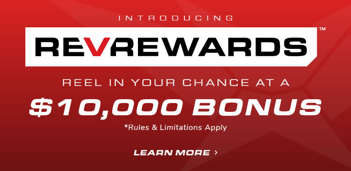 Introducing RevRewards Reel in your chance at a $10,000 Bonus
